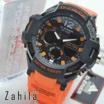Jam tangan D Ziner DZ-8067 Black Orange