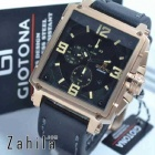 jam tangan Giotona GT 7399 Black Rose Gold terlaris