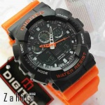 Jam tangan Digitec DG-2011T Black Orange