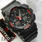 Jam tangan Digitec DG-2011T Black Red