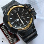 Jam tangan Digitec DG-2065T Black Gold