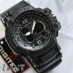 Jam tangan Digitec DG-2078T Sky Cockpit Full Black