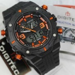 Jam tangan Digitec DG-3013 DT Hitam Orange