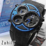 Jam tangan Alfa Four Time 047 Blue