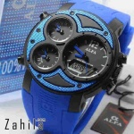 Jam tangan Alfa Four Time 047 Full Blue