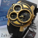 Jam tangan Alfa Four Time 047 Gold