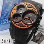 Jam tangan Alfa Four Time 047 Orange