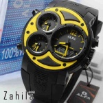 Jam tangan Alfa Four Time 047 Yellow