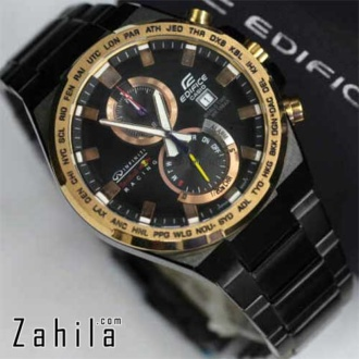 Jam tangan Edifice EFR-542 Red Bull Infinity Black Gold