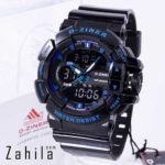Jam tangan D Ziner DZ-8089 G-MIX Black Blue
