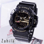 Jam tangan D Ziner DZ-8089 G-MIX Black Gold