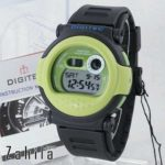 Jam tangan Digitec DG-2101T Black Green