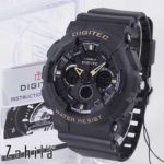 Jam tangan Digitec DG-2032T Black Gold