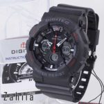 Jam tangan Digitec DG-2032T Black Red