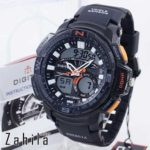 Jam tangan Digitec DG-2083T Black Orange