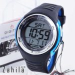Jam tangan Digitec DG-2100T Black Blue