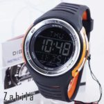 Jam tangan Digitec DG-2100T Black Orange