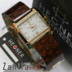 Jam tangan Hegner HW406 Keramik Merah Marun for Ladies