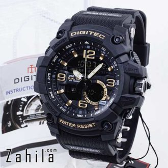 Jam tangan Digitec DG-2102T Black Gold
