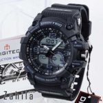 Jam tangan Digitec DG-2102T Black Grey