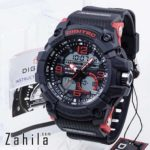 Jam tangan Digitec DG-2102T Black Red