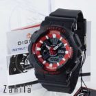 jam tangan Digitec DG-2063T Black Red Wanita terlaris
